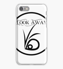 Look away iPhone Case/Skin