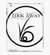 Look away iPad Case/Skin