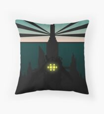 Bioshock Clean Rapture Art Work  Throw Pillow