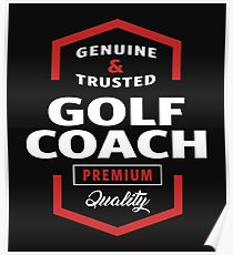 golf coach posters redbubble