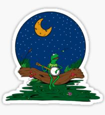 It's Not Easy Bein' Green Sticker