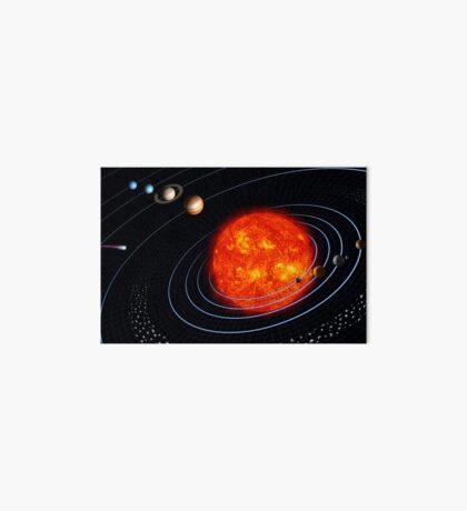 Sonnensystem Galeriedruck