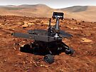 Künstler-Wiedergabe von Mars Rover von StocktrekImages