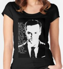 james moriarty Women's Fitted Scoop T-Shirt