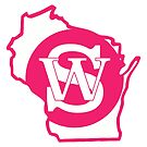 Wisconsin Skinny State pride pink by wisconsinskinny