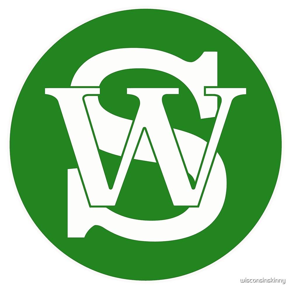 Wisconsin Skinny Pride Green by wisconsinskinny