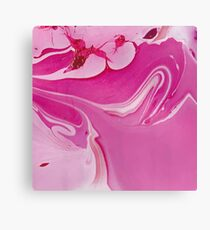 Ink marble texture Canvas Print