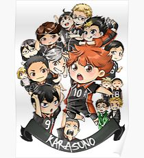 Team Karasuno Poster
