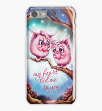 My Heart Led Me to You - Valentine Monsters iPhone Case/Skin
