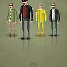 8-Bit TV Breaking Bad Heisenberg by capdeville13