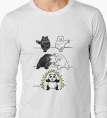 Panda Fusion Long Sleeve T-Shirt