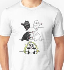 Panda Fusion Slim Fit T-Shirt