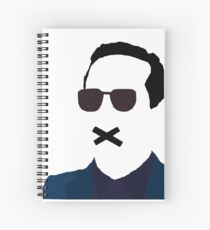 James Moriarty Spiral Notebook