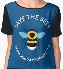 Save the Bees - Bumblebee Chiffon Top