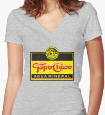 Topo Chico - Sparkling Mineral Water Women's Fitted V-Neck T-Shirt