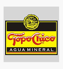 Topo Chico - Sparkling Mineral Water Photographic Print