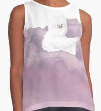 fluffy chicken Contrast Tank