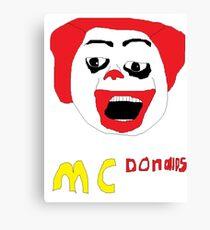 McDonalds Canvas Print