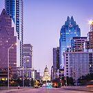 Austin Texas at Sunrise by josephhaubert