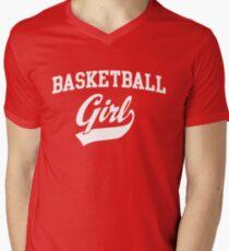 Basketball Girl Men's V-Neck T-Shirt