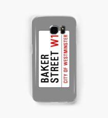 Baker Street Sign – 221B, Sherlock Samsung Galaxy Case/Skin