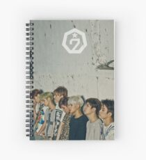 GOT 7 poster 4 Spiral Notebook