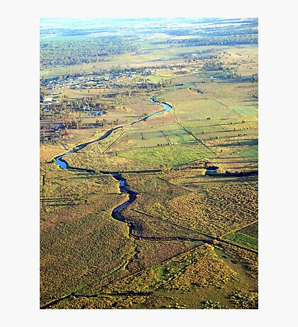 Lockyer Valley at 1700 Feet Photographic Print