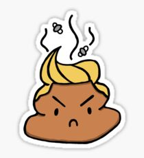 Poop Trump Sticker