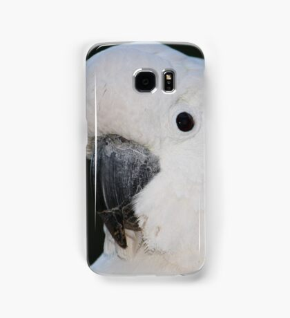Close-up of a Cockatoo Samsung Galaxy Case/Skin