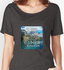 Super Natural British Columbia Canada Women's Relaxed Fit T-Shirt
