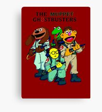 Muppet Ghostbusters Canvas Print