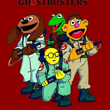 Muppet Ghostbusters by KevWeldon
