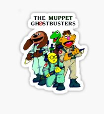 Muppet Ghostbusters Sticker