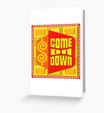 TV Game Show Swag - TPIR (The Price Is...) Greeting Card