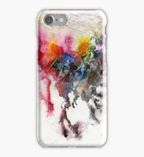 Rainbow abstract iPhone Case/Skin