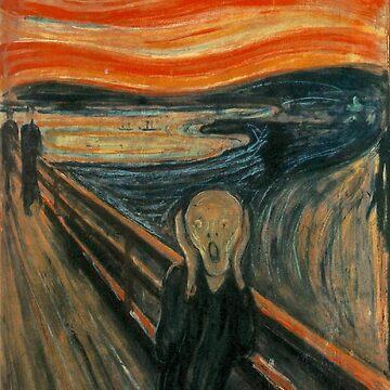 the scream | edvard munch by burnslikethesun