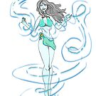 Air Elemental Lady v2 by ToxicMaiden