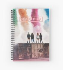 blackpink Spiral Notebook