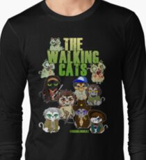 THE WALKING CATS Long Sleeve T-Shirt