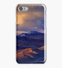 Palomino Valley Winter Sunset  iPhone Case/Skin
