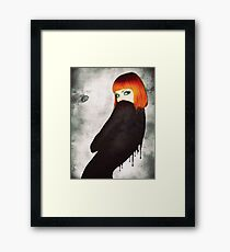Drip Girl Framed Print