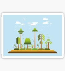 Trees Environment Sticker