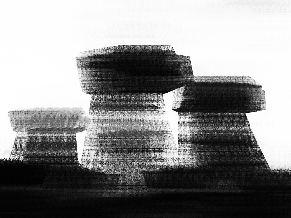 Blurred Buildings by TheatreOfDelays
