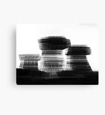 Blurred Buildings Canvas Print