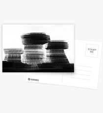 Blurred Buildings Postcards