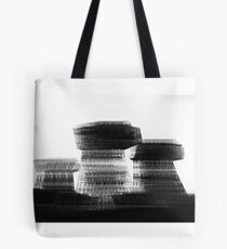 Blurred Buildings Tote Bag