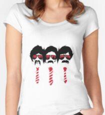 Camiseta entallada de cuello redondo Sabotaje