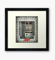 Blow the cartridge Framed Print
