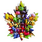 New Toronto Maple Leafs logo with Jelly Bellies by James Hetfield