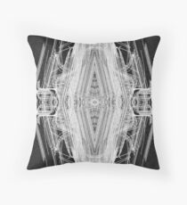 Squared Spider Throw Pillow